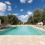 Your large (13m x 6m) luxury swimming pool and sun deck at Villa Serena