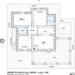 Villa Serena: floorplan of Villa 1 (Villa Grossi)