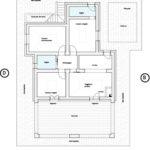 Villa Serena: floorplan of Villa 1 (Villa Pallone)