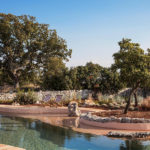 Trullo Royale is a Puglia holiday rental with a difference: a breathtaking 21 metre swimming pool carved into natural rock