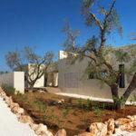 Villa Cali's modernist exterior sets off the surrounding natural beauty