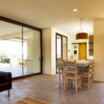 The interior at Villa Cali is simple yet chic