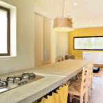 Villa Cali's kitchen is simple but well equipped