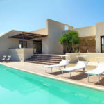 Your stunning private pool with sun loungers