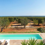 Your beautiful private pool with views across miles of ancient olive groves