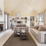 Neutral colours give the living space a welcoming feel
