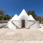 The trullo here is a fine example of the traditional Puglia farm building