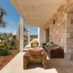 Villa Colomba features a number of great outside spaces to relax and socialise in