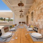 Dining for large groups or small at Villa Colomba