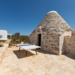 One of the traditional Trulli houses