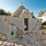 Although traditional, the trulli are fitted with modern doorframes and features