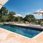 The luxury pool