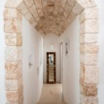 Stone archway featuring the classic Salento stone