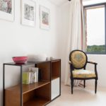Bedroom furniture in the master bedroom