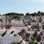 The nearby Alberobello, one of the most prolific examples of traditional Pugliese trulli to be found