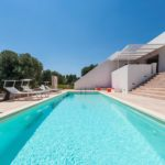 The pool is perfect for cooling off on our sizzling Puglia summer days