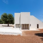 Opposites attract: Villa Modena combines almost brutalist modernity beautifully with the Puglia countryside