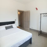 The final bedroom also offers a double bed