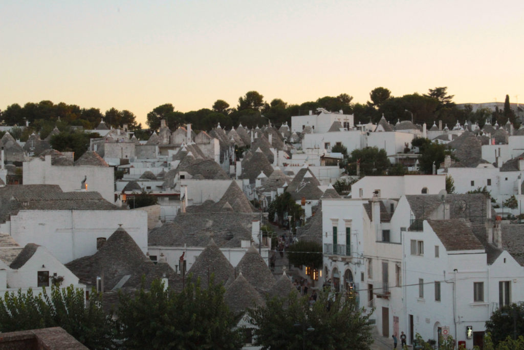 Image of Alberobello, the largest number of trullo houses in Puglia