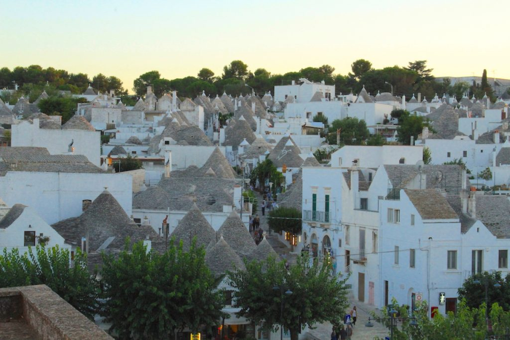 Explore Alberobello, a UNESCO heritage site, packed full of trulli, during your 36 hours in Puglia