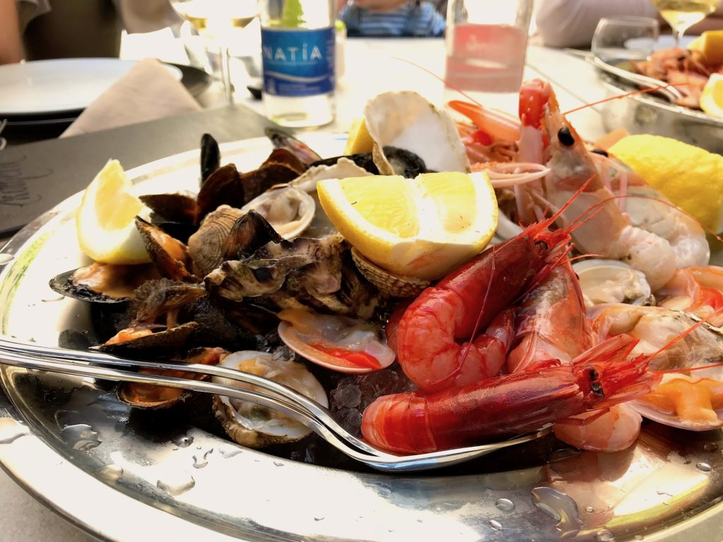 Food in Puglia - Crudo di Mare